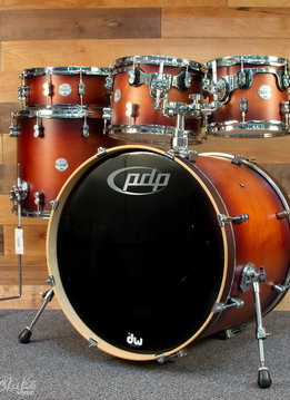 PDP PDP Concept Maple 5pc Shell Pack, Satin Tobacco Burst