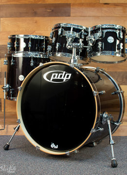 PDP PDP Concept Maple, 5 Piece Shell Pack, Ebony Stain Lacquer