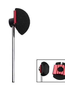"DW DW SM115  5.5"" Orb Black Foam Beater For Cajon Pedal"