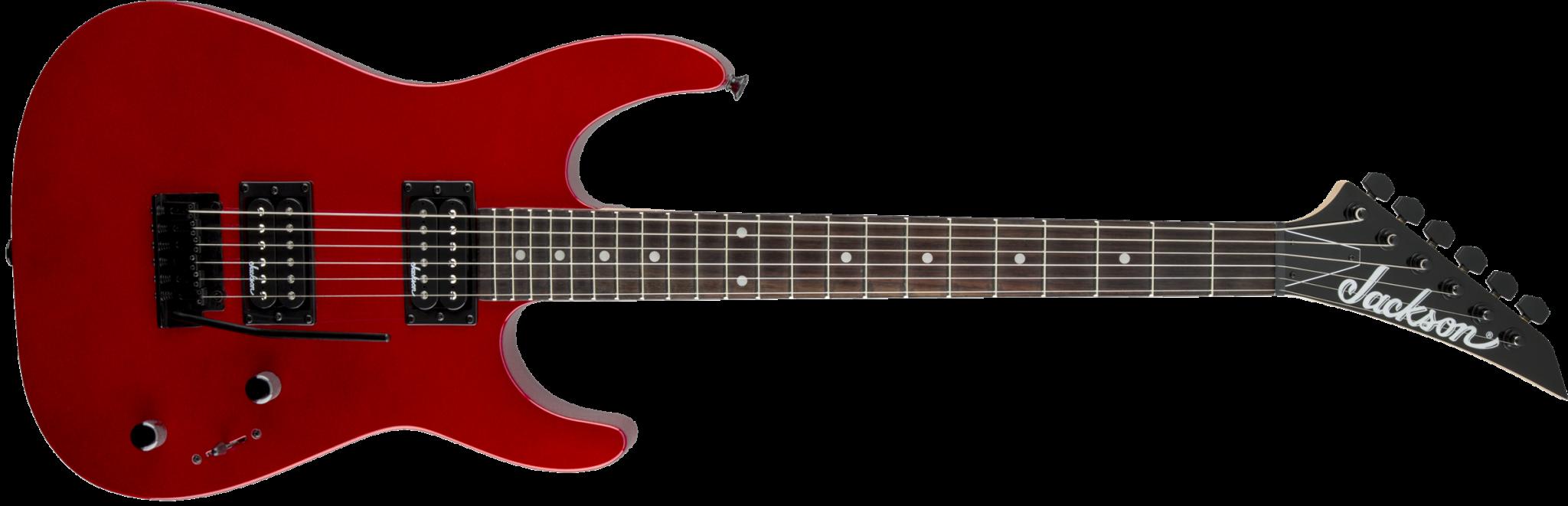 Jackson Jackson JS Series Dinky™ JS11, Amaranth Fingerboard, Metallic Red
