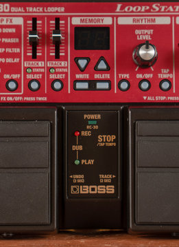 Boss BOSS RC-30 Dual Track Loop Station
