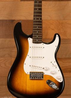 Squier Squier Bullet Stratocaster® Hard Tail, Rosewood Fingerboard, Brown Sunburst
