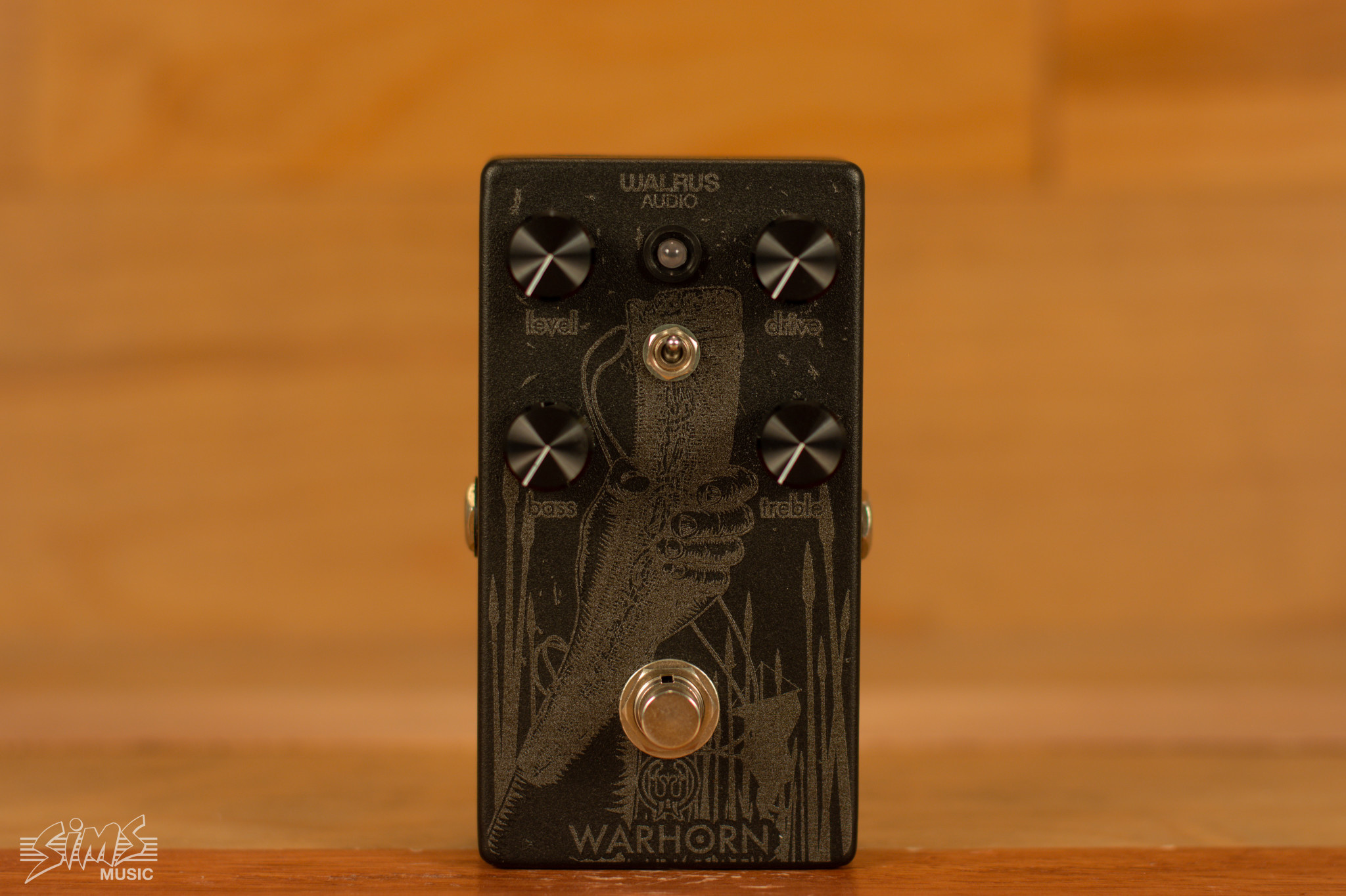 Walrus Audio Walrus Audio Warhorn, LTD Matte Black