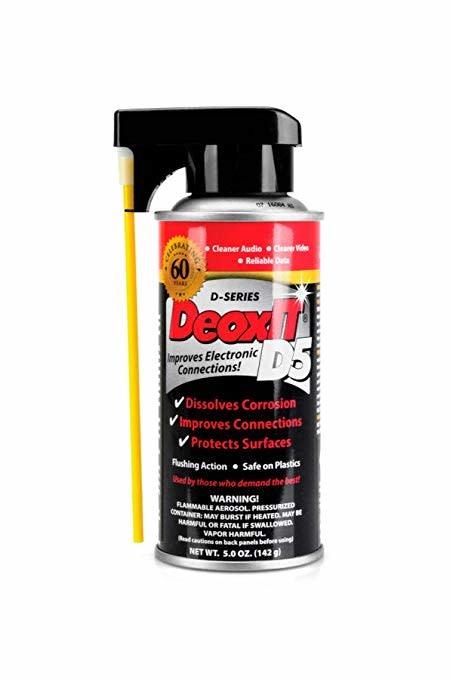 Hosa Hosa D5S-6 CAIG DeoxIT Contact Cleaner, 5oz