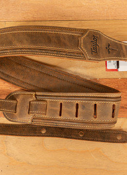 Taylor Taylor Wings Strap, Dark Brown Leather, 2.5""