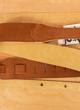Taylor Taylor Strap, Medium Brown Sanded Suede, 2.5""