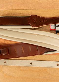 "Taylor Taylor Renaissance Strap, Cordovan Leather, 2.5"""