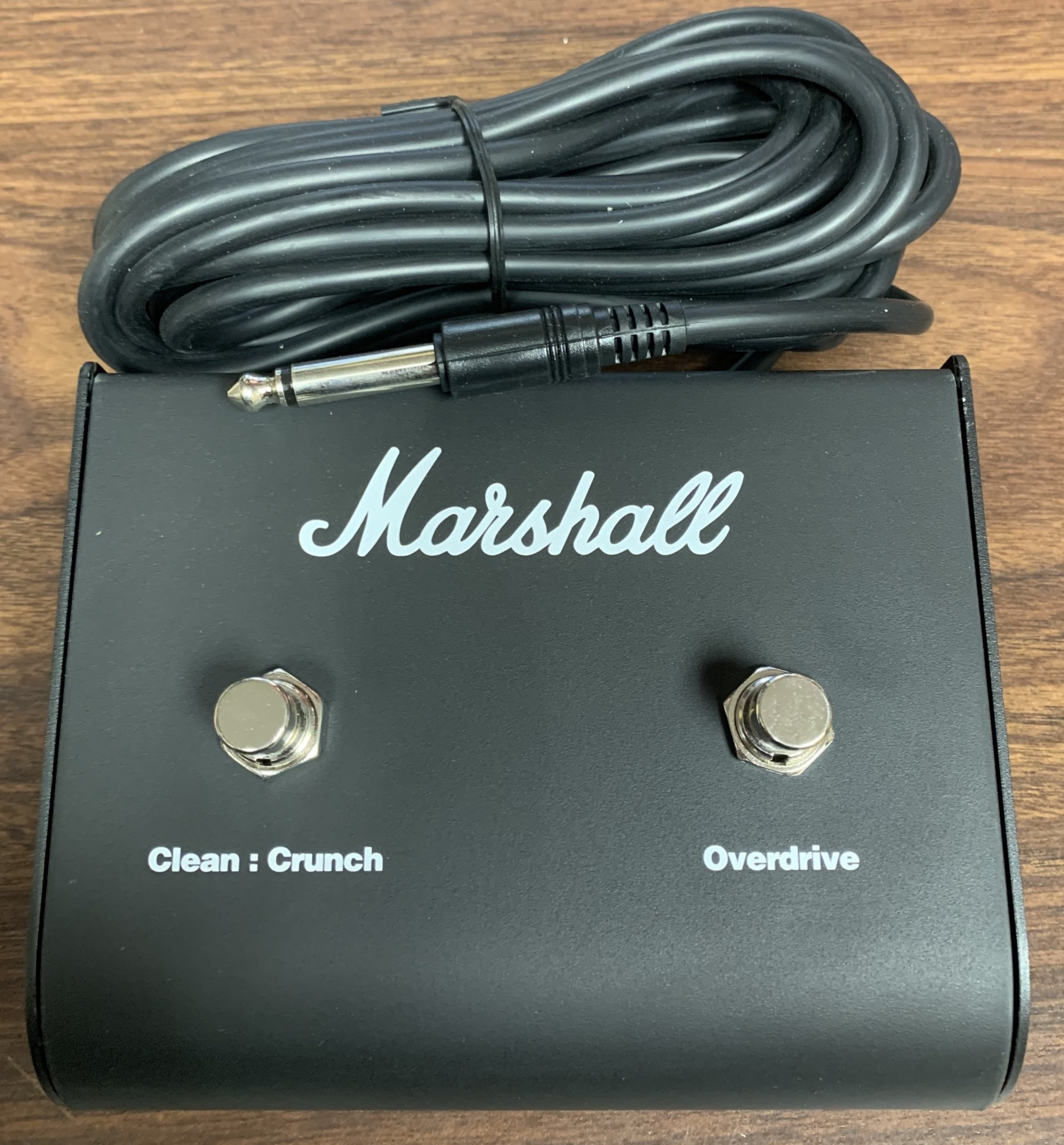 Marshall Marshall PEDL-90010 2-Button Foot Switch, Clean:Crunch/Overdrive