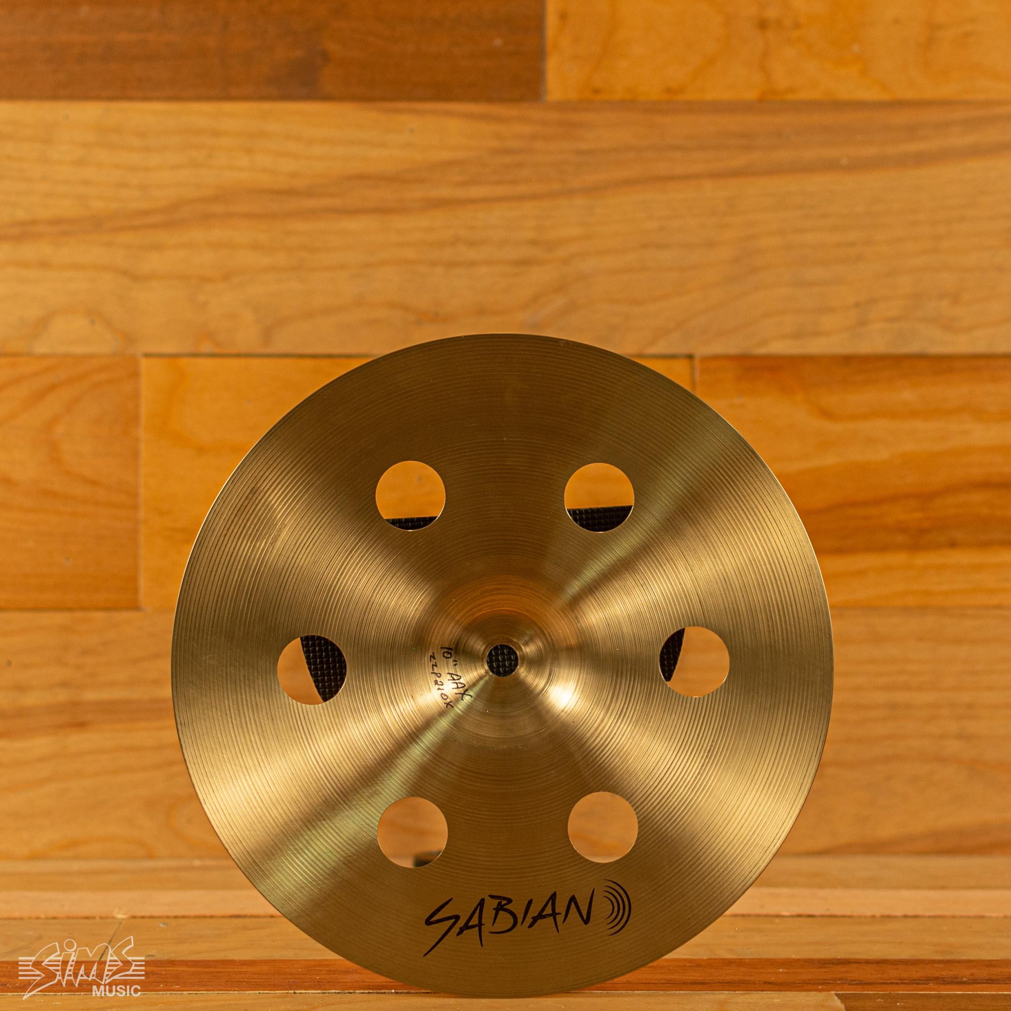 """Sabian Sabian 10"""" Prototype AAX Splash"""