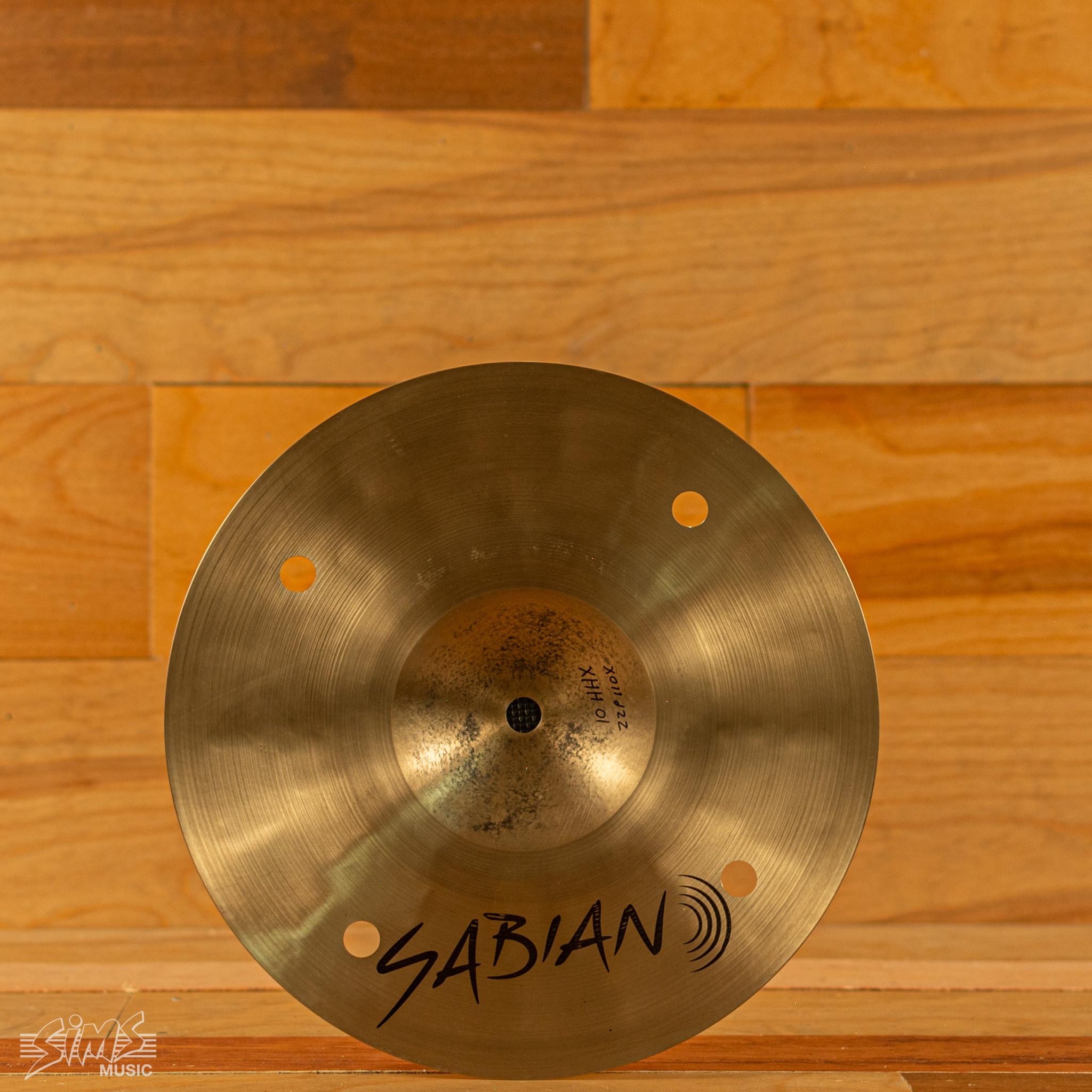 "Sabian Sabian 10"" Prototype HHX Splash"