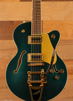Gretsch Gretsch G5655TG Electromatic® Center Block Jr. Single-Cut with Bigsby® and Gold Hardware, Cadillac Green