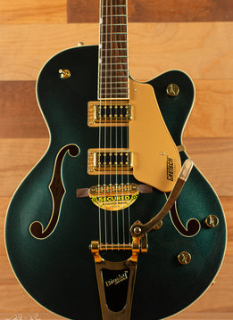 Gretsch Gretsch G5420TG Limited Edition Electromatic® Hollow Body Single-Cut with Bigsby® and Gold Hardware, Cadillac Green