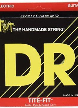 DR DR JZ-12 Tite-Fit Jazz Electric String Set, 12-52