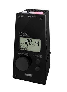 Korg KDM-3 Digital Metronome, Black