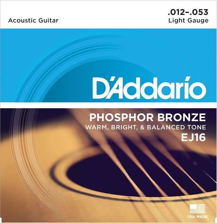 D'Addario D'Addario Acoustic Light Strings