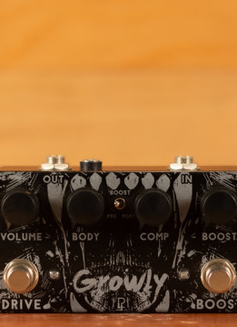 Pedal Projects Pedal Projects Growly - Low Gain Overdrive