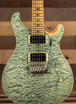 PRS PRS SE Roasted Maple Neck Custom 24, Trampas Green