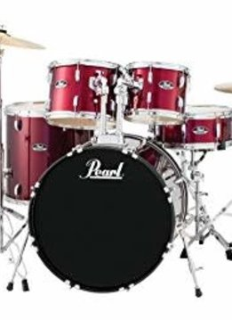 Pearl Pearl Roadshow Complete Set with Cymbals, Red Wine