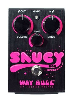 Way Huge Way Huge Saucy Box Overdrive Pedal - mint