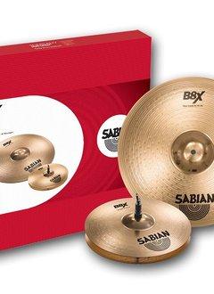 """Sabian Sabian B8X 2 Pack - 14"""" Hats  18"""" Crash Ride"""