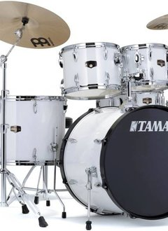 Tama Tama Imperial Star 5pc with Hardware and Cymbals,  Sugar White