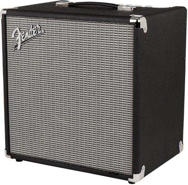 Fender Fender RumbleTM 40 (V3) Bass Amp Combo, Black/Silver