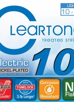 Cleartone Cleartone Electric Strings .010-.046 Light