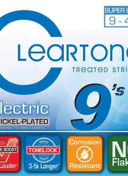 Cleartone Cleartone Electric Strings 9-42 Super Light