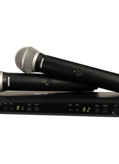 Shure Shure BLX PG58 Dual Vocal System (H10)