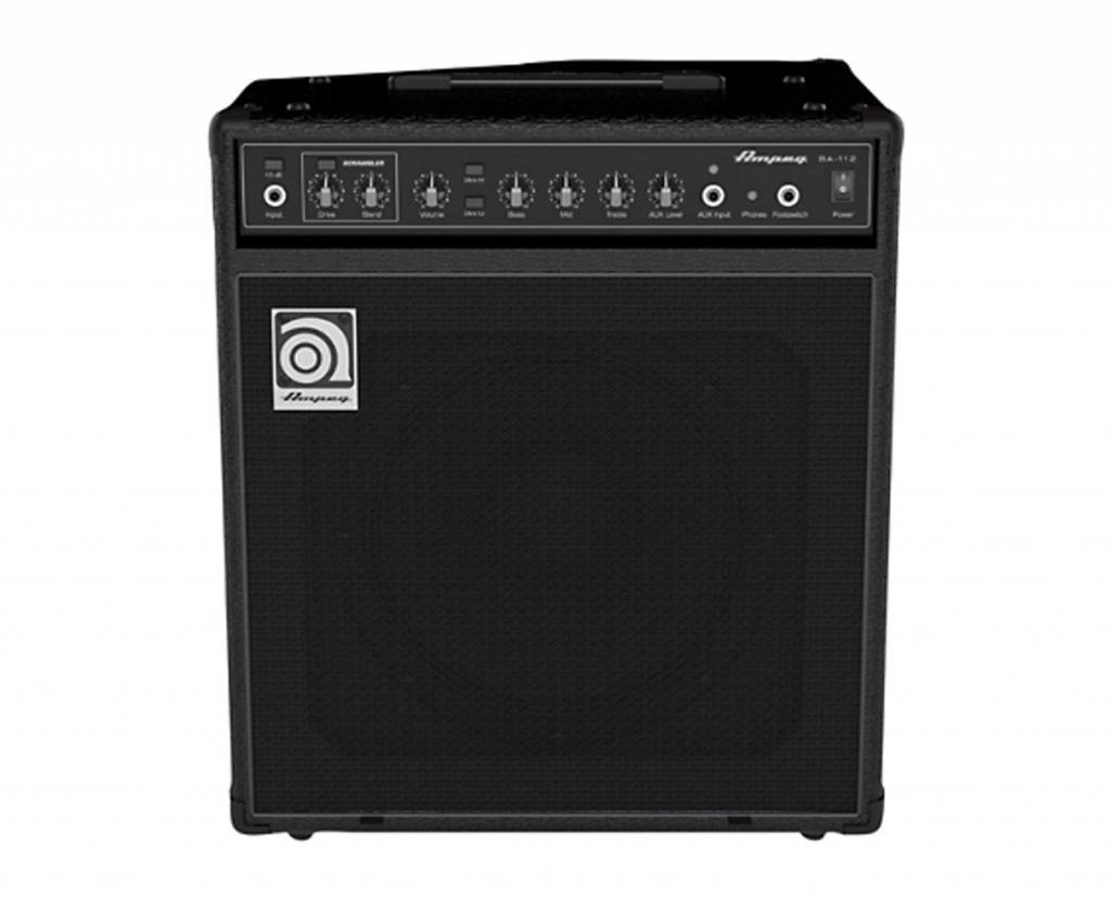 "Ampeg Ampeg BA-112 75W RMS, Single 12"" Ported, Combo with Scrambler"