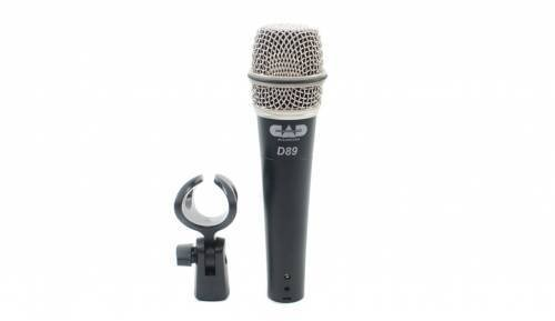 CAD Cad D89 Premium Supercardioid Dynamic Instrument Microphone