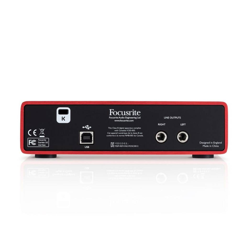Focusrite Focusrite Scarlett 2i2 USB Interface 2nd Generation