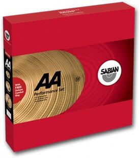 "Sabian Sabian AA Performance Set, 14"", 16"", 20"""