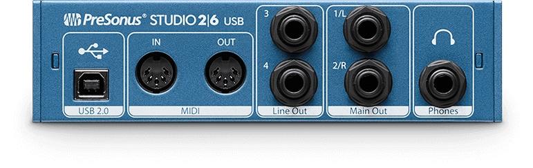 Presonus PreSonus Studio 26 2x4 USB 2.0 Audio/MIDI Interface