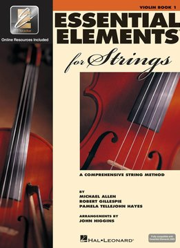 Hal Leonard Essential Elements Violin Book 1