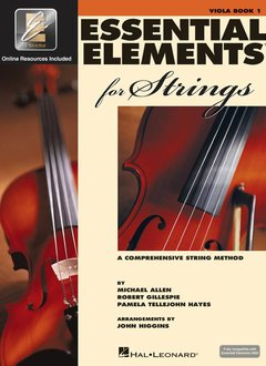 Hal Leonard Essential Elements Viola Book 1
