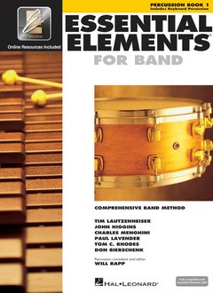 Hal Leonard Essential Elements Percussion Book 1