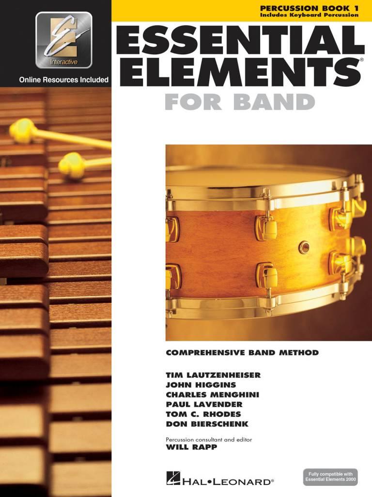 Hal Leonard Essential Elements Percussion Book 1