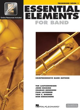 Hal Leonard Essential Elements Trombone Book 1
