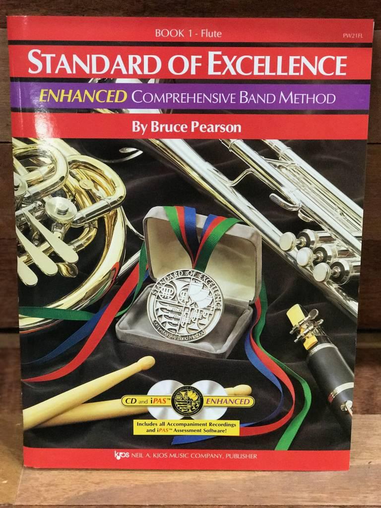 Kjos Standard of Excellence Enhanced Flute Book 1