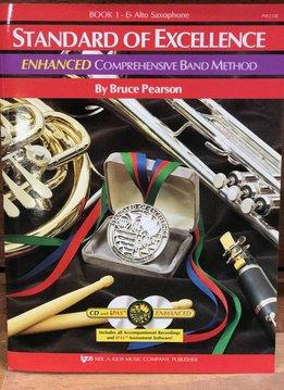 Kjos Standard of Excellence 1 Enhanced Alto Sax