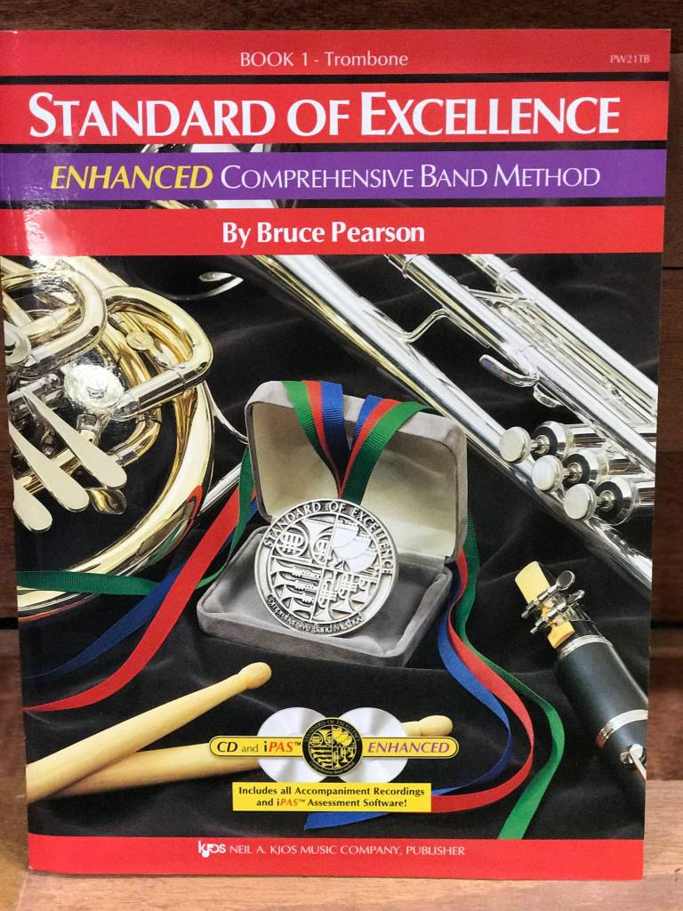 Standard of Excellence Comprehensive Band Method Book 1 Trombone
