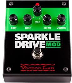 VooDoo Lab Voodoo Lab Sparkle Drive Mod Pedal