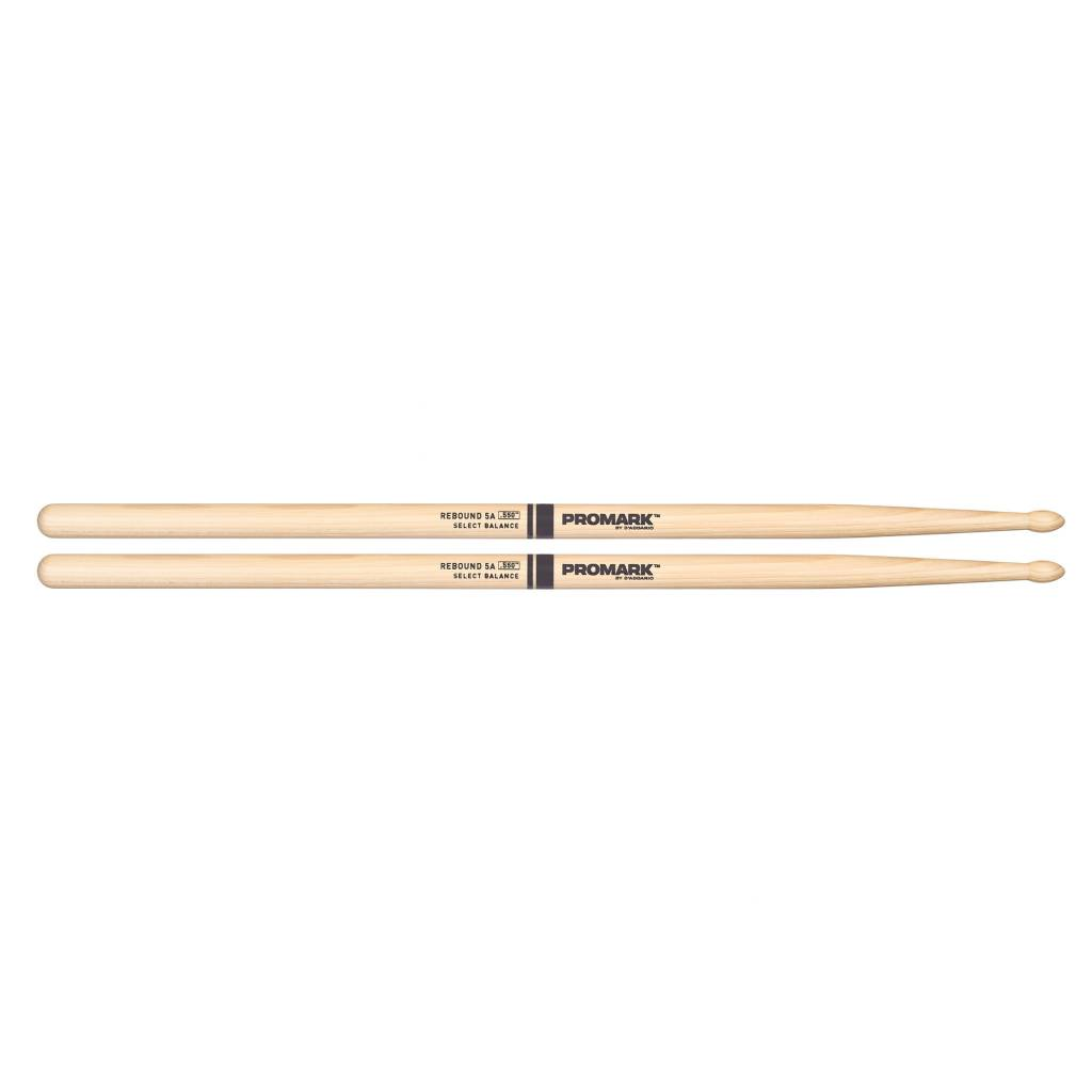 "Pro-Mark ProMark  Rebound 5A .550"" Hickory Tear Drop Wood Tip"
