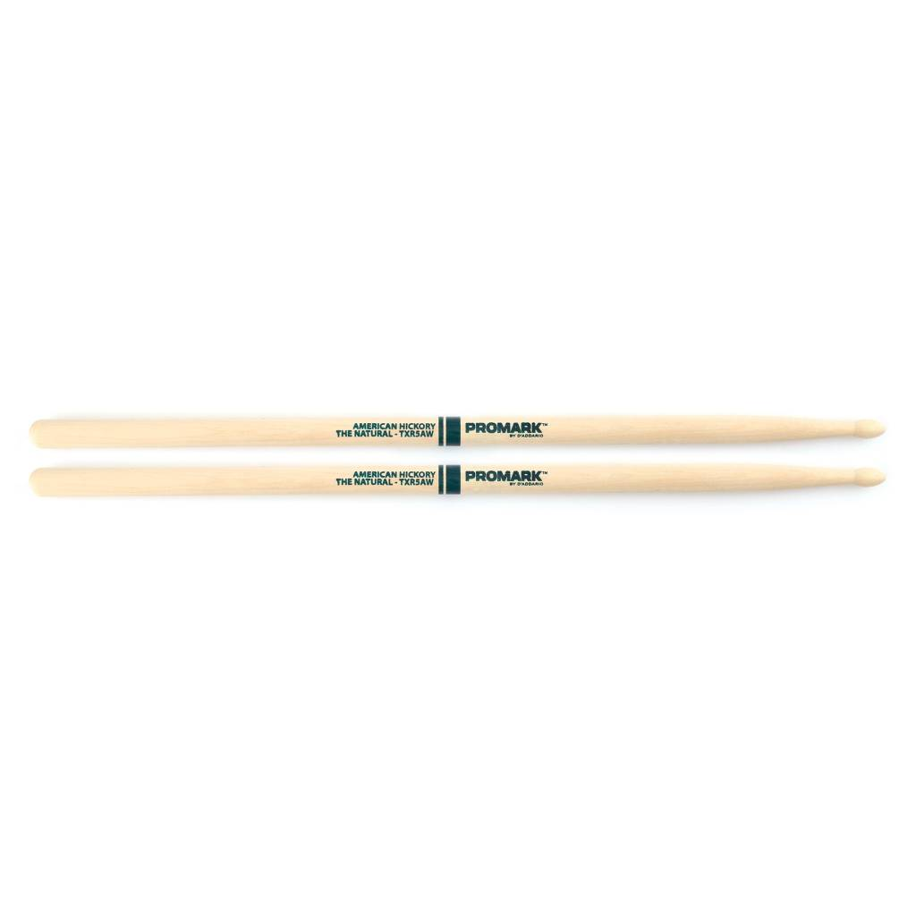 """Pro-Mark ProMark Hickory 5A """"The Natural"""" Wood Tip"""