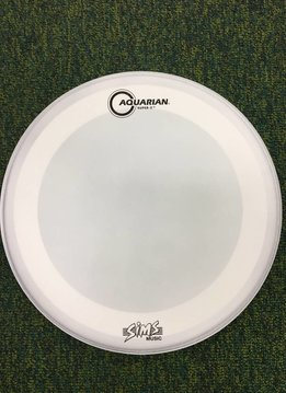 "Aquarian DESIGNED BY SIMS Aquarian 14"" Super 2 w/ Studio X Ring - Texture Coated"