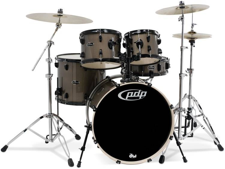 PDP PDP Mainstage 5-Piece Kit with Hardware and Cymbals, Bronze