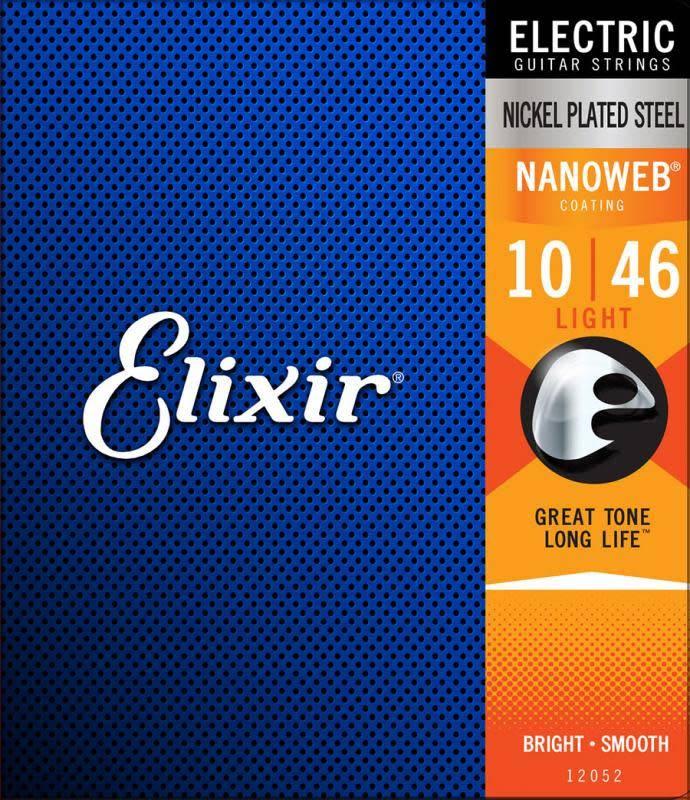Elixir Elixir Nanoweb Electric Light 10-46