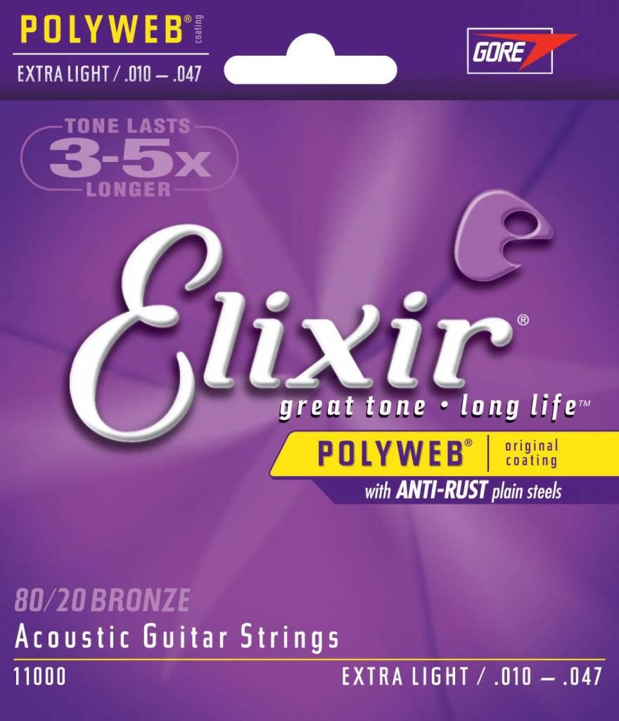 Elixir Elixir POLYWEB Acoustic Extra Light 10-47
