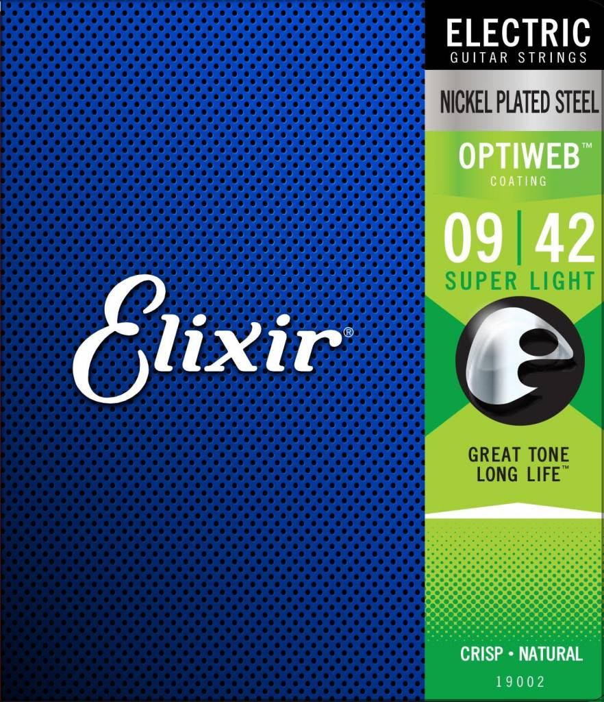 Elixir Elixir OptiWeb Electric Super Light 9-42